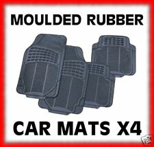 Heavy Duty 100% Rubber Moulded Car Mat x 4 mitsubishi