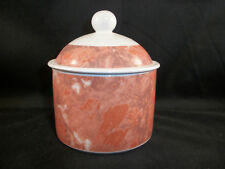 VILLEROY & BOCH SIENA SUGAR POT WITH LID PINK