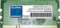 256MB DDR2 144-PIN PRINTER RAM (CC415A, CLP-MEM202, 311-9272, CB423A, MDDR2-256)