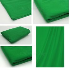 Green Screen / Chromakey Backdrop 6x9 Muslin Video Photo Background