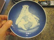 Vintage COPENHAGEN porcelain B&G 1974 Mors Dag Mothers Day Collector Plate LUD