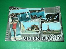 Cartolina Saluti da Melendugno ( Lecce ) - Vedute diverse 1961