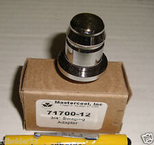 """Mastercool 71700-12 3/4"""" Copper Refrigerant Pipe Swaging Adapter Works in 71700"""