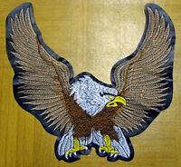 Adler Eagle Aufnäher Patch  XL XXL Rückenaufnäher Biker