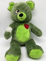 Build A Bear Zombear Zombie Teddy BAB Stuffed Plush Retired 2015 Halloween Sound
