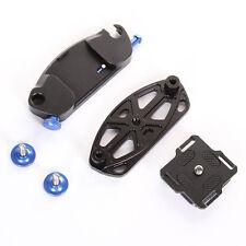 Kamera Holster Taille Gürtel Schnalle mit 1/4'' Schnellwechselplatte für DSLR