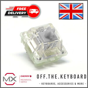 Cherry MX Speed Silver RGB Linear Mechanical Keyboard Switch Replacement Lot