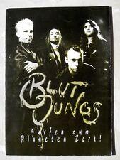 BLUTJUNGS Band-Info 1996 Splatter-Pop ähnl. Die Ärzte