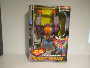 Transformers Beast Wars Transmetals Optimal Optimus Complete in Box