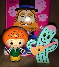 Its a Small World Irish Boy and Cactus Park Starz Series 3 Vinylmation with Tin