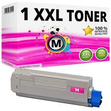 1x XXL TONER Patrone Magenta für OKI Data C5650N C5650DN C5750N C5750DN