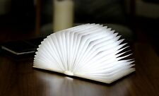 Gingko Blanco LED Lámpara Luz Libro Inteligente USB alimentado por batería recargable Oficina