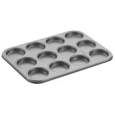 Cake Boss 12 Cup Whoopie Pie Pan Silver Carbon Steel Bakeware NEW