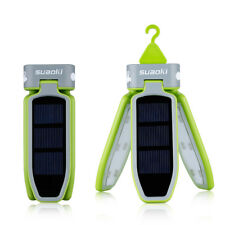 Suaoki Outdoor Foldable Solar Panel LED Lantern USB Rechargeable Camping Hiking