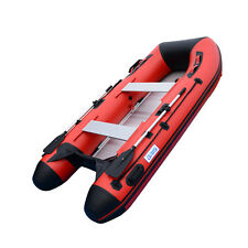 3.1M Inflatable Boat Dinghy Yacht Tender Pontoon Boat With Aluminum Floor