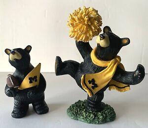 Jeff Fleming Bearfoot Bears University of Michigan U of M Wolverines Collegiate