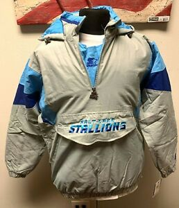 Salt Lake Stallions Starter 1/4 Zip Jacket