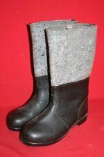Original NVA Thermostiefel Filzstiefel Winter Leder Stiefel Gr. 42 DDR 28 Nr. 14