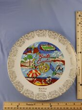 SOUTH CAROLINA State Souvenir Plate Myrtle Beach Fort Sumter Beaufort Arsenal