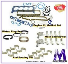 MERCRUISER OMC GM 3.0L 181 Marine Engine Rebuild Kit Rod+Main Brngs REV Rot 2PC