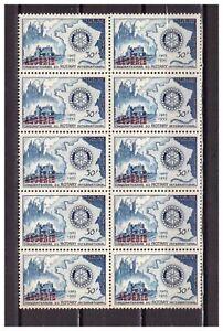 S23224) Dealer Stock Algerie 1955 MNH Neu Rotary 1v (X10 Sets)