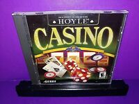 Hoyle Casino 2001 PC CD ROM (Windows/Mac, 2001) B506/B509