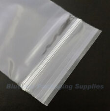 "1000 Grip Seal Clear Resealable Poly Bags 5"" x 7.5"""