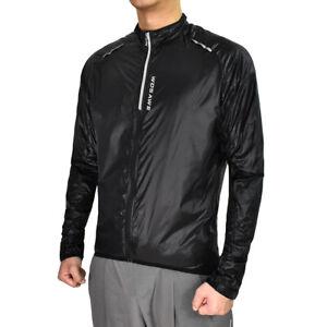 Men Cycling Water Resistant Jacket Lightweight Windbreaker Zipper Outdoor Sports