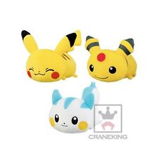 Pokemon Kororin Friend Pikachu Ampharos Pachirisu Plush Doll set Banpresto