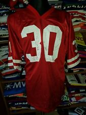 #30 SAN FRANCISCO 49ers NFL JERSEY SIZE 52 RUSSELL ATHLETIC FOOTBALL (m749)
