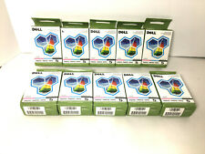 Lot 10 Dell Series 5 J4844 Photo Ink Cartridges for 922 924 942 944 946 962 964