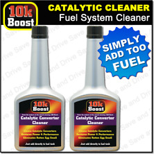 2x 10K Boost Catalytic Converter Cleaner Cleans Entire Petrol Fuel System Cat