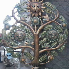 Tree of Life with Suns Metal Art Furniture Room Decor Online Shopping 24""