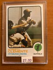 Roberto Clemente 1973 Topps #50