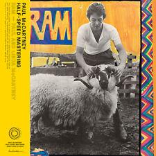 PAUL & LINDA MCCARTNEY  - RAM - 50TH ANNIVERSARY ED. - LP 180 G HALF SPEED NUOVO