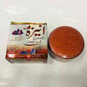 Aneeza Saffron Whitening Cream with Milk Protein &  Saffron 100% Original