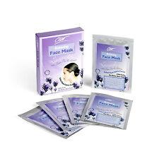 10 X CLEO Lavande éclaircissement Masques faciaux ANTI-AGE coton Beauté Visage