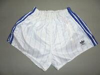 70er Jahre Adidas Sprinter Nylon Glanz shorts PIK MARIBOR sport hose 70s  7/L