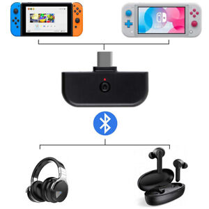 USB-C Bluetooth Audio Transmitter BT Type-C Adapter for Nintendo Switch PS4