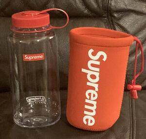Genuine Supreme / Nalgene 32 oz. Red Hydration Water Bottle Brand New SS20