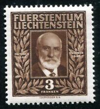LIECHTENSTEIN 1940 191 ** POSTFRISCH TADELLOS 3 FRANKEN HÖCHSTWERT (I2518