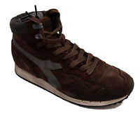 Diadora Heritage scarpe sneakers Pelle Vintage shoes Men Uomo Trident 157640 Mid