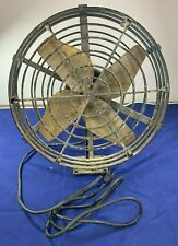 "General Electric ~14"" Fan Type AG Form AL-1 GE Vintage Table Fan Art Deco"