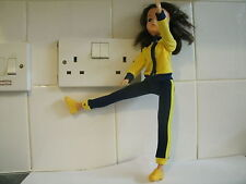 VINTAGE 1970's SINDY DOLL BLACK HAIR KEEP FIT DOLL & OUTFIT 033055X