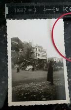Foto WARSCHAU Polen JUDAIKA JUDEN GHETTO EINHEIMISCHE JUDAICA ZERSTÖRUNG ca 1941