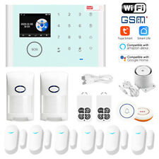 CS118 Wifi+GSM+GPRS Network Wireless Voice Alarm System Tuya APP Remote Control