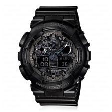 Casio G-Shock Analogue/Digital Mens Black XL-Series Watch GA-100-1A1 GA-100-1A1D