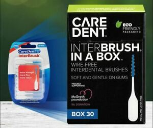 CareDent InterBrush Interdental Brush SMALL 30 Pieces Toothbrush Floss