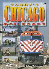 Today's Chicago Railroads DVD Pentrex BN C&NW Grand Trunk South Shore EJ&E IHB