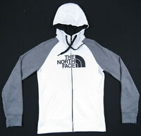 NWOT The North Face TNF Fleece Lined Hooded Big Logo Full Zip Womens Jacket S